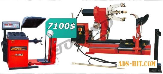 Комплект грузового шиномонтажного оборудования (шиномонтаж и балансировка)