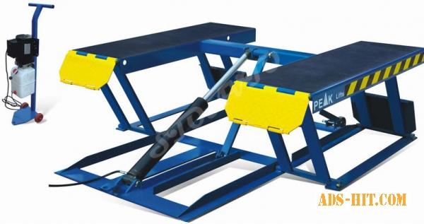Ножничный электро-гидравлический подъемник (пневмоплатформа для шиномонтажа)