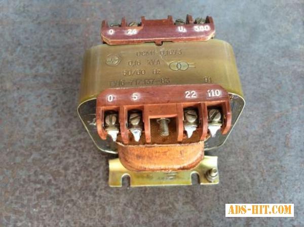 Трансформатор ОСМ-0, 16 (220/12)