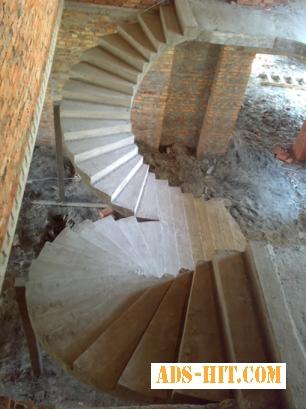 Лестницы, бетонные лестницы Киев