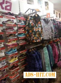 Торговое оборудование б/у для одежды и обуви (в любой комплектации)