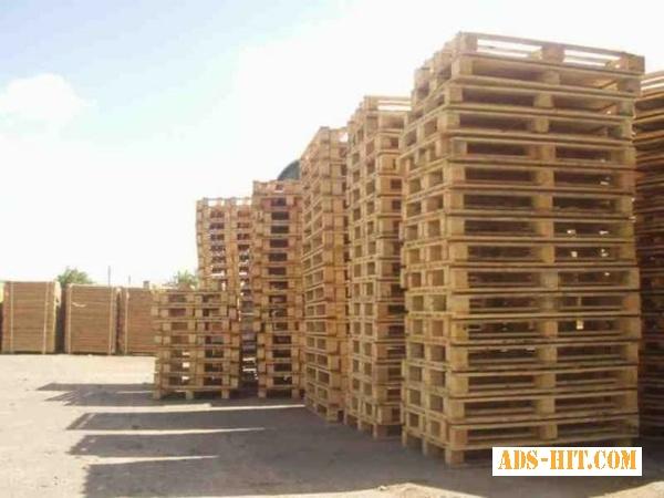 Поддоны новые, деревянные
