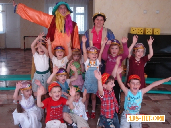 Аниматоры на детский праздник Киев.