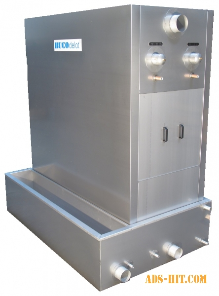 Установки получения лёд-воды с температурой воды близкой к нулю.