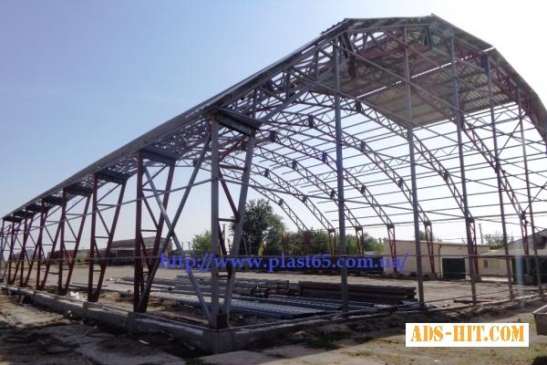 Каркасные ангары под ключ, строительство каркасных ангаров, складов, быстровозводимых зданий, Украина.