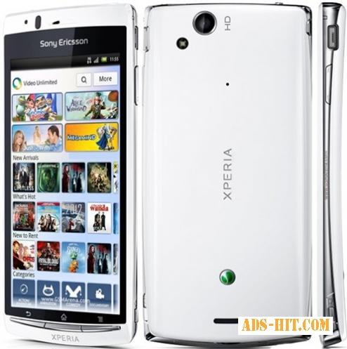 Новий Смартфон Sony Ericsson Xperia Arc S White