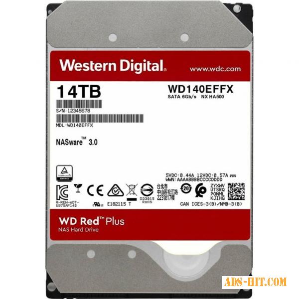 Жесткий диск для майнинга chia, hdd 14 Тб WD RED 3, 5 наличие