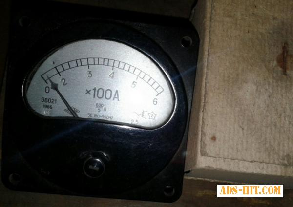 Амперметр Э8021 0-600А