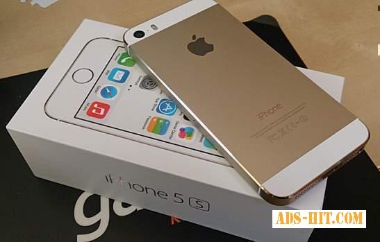 Apple, iPhone 5S 64GB Gold / White (Unlocked)