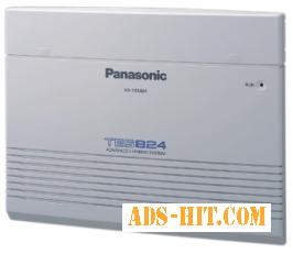 Panasonic KX-TES824UA (конфигурация 3 внешних/8 внутренних)