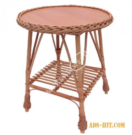 Столы плетеные, Стол Журнальный с косой