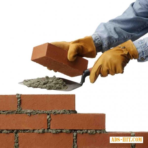 Нужны Каменщики На стройку