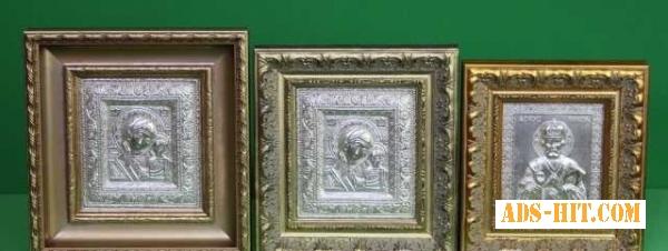 Эксклюзивные иконы ювелирной работы