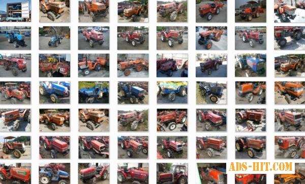 По доступным ценам японские трактора в Одессе.