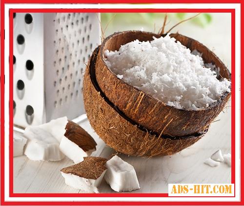 Кокосовая стружка кокоса medium