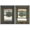 Вертикально-сдвижные (подъемные) окна из металлопластика .