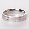Мужское кольцо обручальное шина