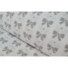 Детское необычное постельное белье, Комплект Бантики серые