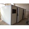 Холодильная камера-комната, морозильная камера-комната.