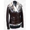 Шикарная короткая куртка из натуральной кожи