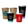 Бумажные стаканы с Вашим Логотипом (брендирование бумажных стаканов)
