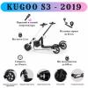 Электросамокат Kugoo S3 (вес 11 кг, пробег 30 км, 35 км/ч, нагрузка 120 кг) + сумка