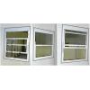 Алюминиевые вертикально-сдвижные окна .