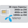 Картки 3g 4g 5g мобільний інтернет Європейські країни придбати Київ