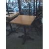 Деревянный стол б. у для кафе, бара, ресторана, кофейни, бистро.