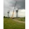 Водонапорные башни, Изготовление водонапорных башен на стальных опорах, столбах монтаж