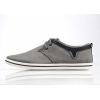 Туфли мужские повседневные «BIKKE» серые