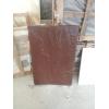 Каменная плита 900*600*30 , натуральная , сочный коричневый цвет , плита для мощения площадок , дорожек , фасадная плита