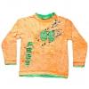Кофту детскую оранжевую с рукавом