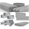 ЖБИ изделия : Плиты перекрытия, блоки фундаментные, кольца, сваи и др.