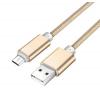 Кабель ( шнур ) микро USB для зарядного устройства на телефон, компьютера. 2 метра.