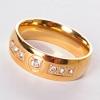 Кольцо обручальное под золото