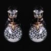 Cерьги Dior с наполнителем серебро гранулы