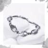 Срібний браслет «Спокуса»