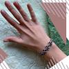Срібний жіночій браслет «Змійка»