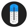 Портативный рефрактометр RHB-32ATC Brix (Сахароза от 0 до 32 %)
