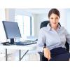Oфис-менеджep девушка в пpоцветающyю компанию