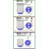 2шт Светодиодная автолампа, Led CREE Q5, BAY15D, P21/5W, 1157 Стопы габариты