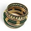 Браслет Кольца Змеи женский, из шести золотых колец