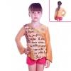 Кофту для девочки коричневую с вышивкой