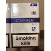 Оптом сигарeты «Compliment Demi blue6 XXL». Ящик-480 пачек (60 блоков по 8пачек) .