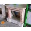 Камин Leon, мрамор, габаритные размеры 103*140*36
