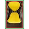Пластиковые стулья дизайнерские б/у Simphony МВ Италия алюминиевый каркас