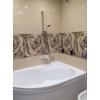 Облицювання плиткою, заміна водяних та каналізаційних труб, встановлення сантехніки.