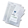Печать медицинских/технических инструкций на бумаге 45 г