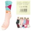 Носки женские хлопок разные цвета